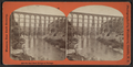 Old Rail Road Bridge at Portage, by George L. Washburn.png