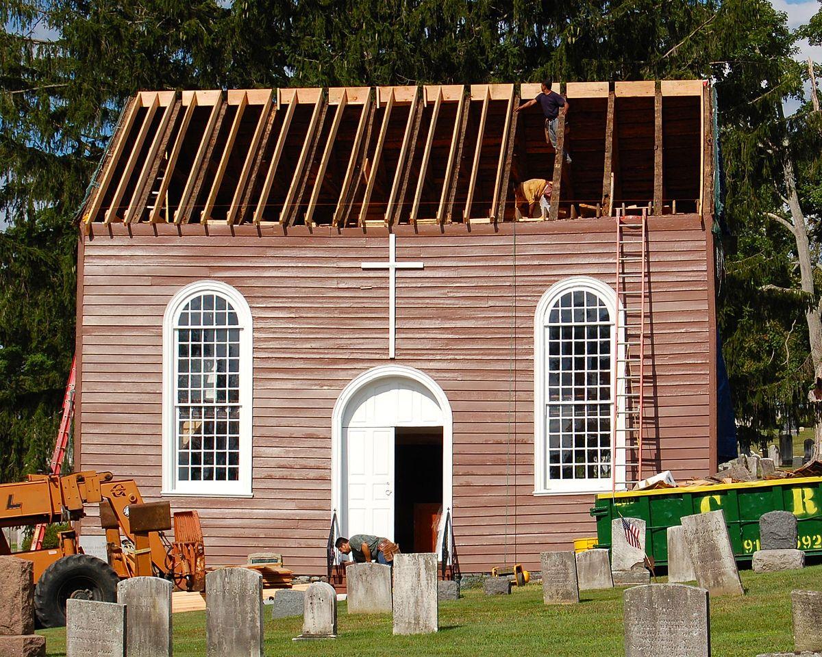 Old St Peter S Church Van Cortlandtville New York