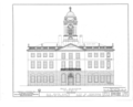 Old State House, Main Street and Central Row, Hartford, Hartford County, CT HABS CONN,2-HARF,1- (sheet 3 of 18).png