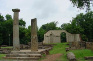 English: Old Alabama State Capital ruins in Tu...