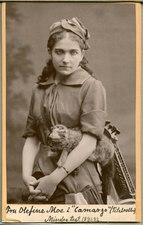 Olefine Moe, rollporträtt - SMV - H6 083.tif