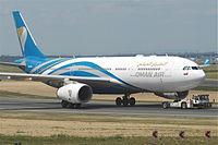 A4O-DA - A332 - Oman Air