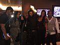 Omar Slim White, Vivica Fox, Floyd Mayweather, Drake, Jamie Foxx, and guest.jpg