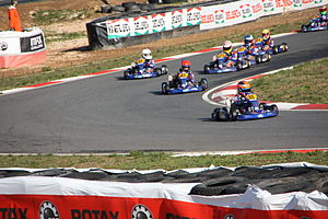 Rotax Max Challenge - On the track