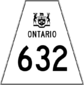 Highway 632 shield
