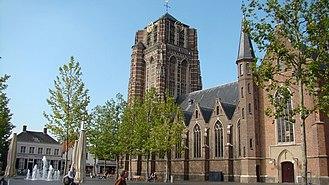 Oosterhout - Market square in Oosterhout