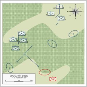 Operation Bribie 17-18 February 1967