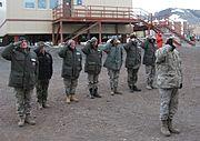 Operation Deep Freeze retreat ceremony