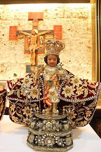 Santo Niño de Cebú - Original image of Señor Santo Niño de Cebú