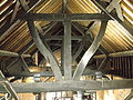 Original timber roof in St Michael's Church, Chester (2).JPG