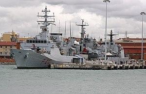 Sirio-class patrol vessel - Image: Orione (P 410) 01