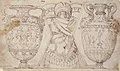 Ornamental Design with Amphore and Antique Style Armor (recto); Sketch with Two Figures (verso) MET 63.712.83.jpg