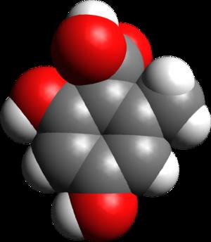 Orsellinic acid - Image: Orsellinic acid 3D