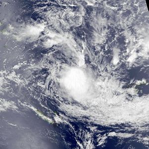 1986–87 South Pacific cyclone season - Image: Osea Nov 24 1986 0354Z