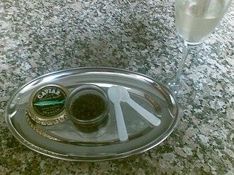 Delicacy - Wild Iranian Ossetra caviar