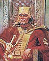 Oton Iveković, King Tomislav (19th century) (cropped and flipped).jpg
