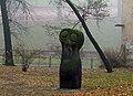 Owls (1961 by sculptor Bronislaw Chromy), Planty Park, Old Town, Krakow, Poland.jpg