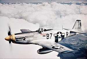 North American Aviation - The North American P-51D-5-NA Mustang