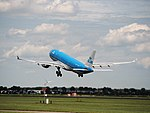 PH-AOD KLM Royal Dutch Airlines Airbus A330-203 cn738 takeoff from Schiphol (AMS - EHAM), The Netherlands pic1.JPG