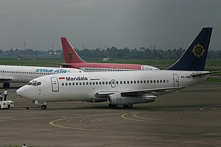 Mandala Airlines Flight 91 Accident airline in Indonesia.