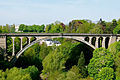 PONT ADOLPHE, Luxembourg City, in SPRING 2008.jpg