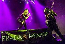 Prada Meinhoff auf dem W-Festival 2017, Frankfurt am Main; Foto: Vero Bielinski