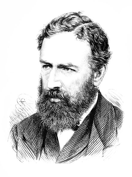 Portrait of Jevons published in the Popular Science Monthly in 1877 PSM V11 D660 William Stanley Jevons.jpg