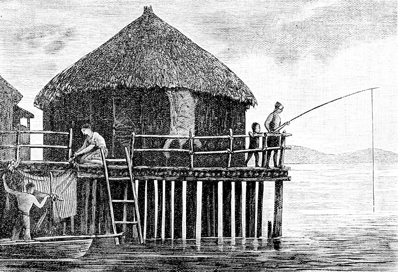 File:PSM V24 D321 A primitive lake dwelling in switzerland.jpg