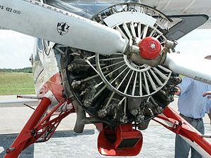 Ivchenko AI-14 - AI-14R engine of a PZL-104 Wilga