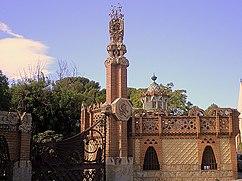 Pabellones Güell, Barcelona (1884–1887)