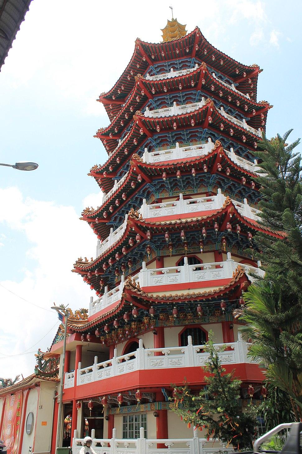 Pagoda of Tua Pek Kong Temple