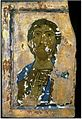 Painted icon of the Saviour. XIIIth c. Svaneti Historical and Ethnographical Museum. Mestia..jpg