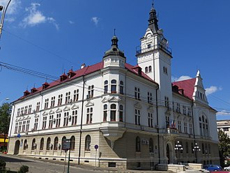 Suceava - Image: Palatul Administrativ din Suceava 12