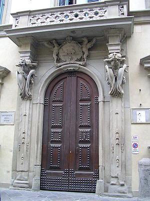 Gherardo Silvani - The portal of Palazzo Fenzi.