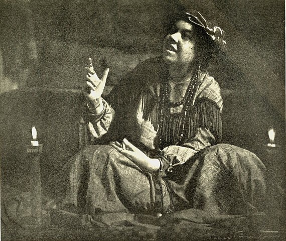 Pamela Colman Smith, storyteller and illustrator of the RWS - Rider Waite Smith - Tarot cards.