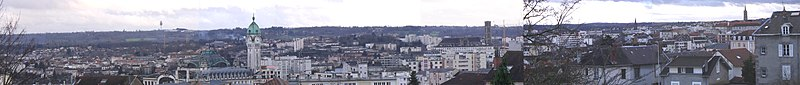 Panorama over Limoges