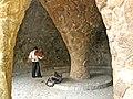 Parc Güell, tocant el violí.jpg