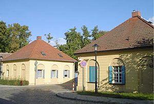 Paretz - Gate houses