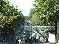 Paris - Funiculaire de Montmartre - Station inférieure.JPG