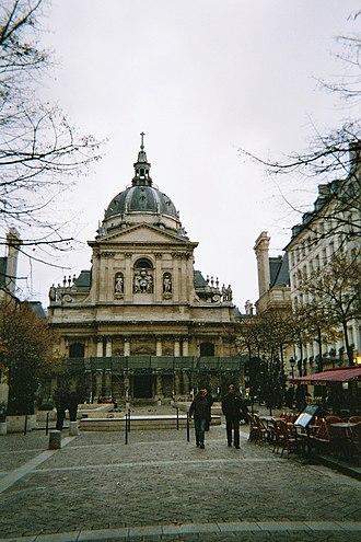 Sorbonne - Place de la Sorbonne.