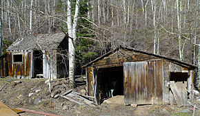 Park City Utah Historical Wood Cabin photo D Ramey Logan