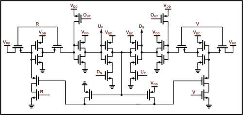 phase detector - wikipedia, Circuit diagram