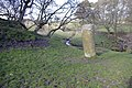 Pasture, Bradley Burn and Roman milestone, near Vindolanda - geograph.org.uk - 409042.jpg