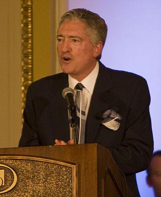 Pat Hughes (sportscaster) - Image: Pat Hughes 2011