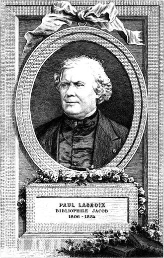 Paul Lacroix - Image: Paul Lacroix Jacob