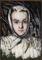 Paul Cézanne - Marie Cézanne, the Artist's Sister (recto), The Artist's... - 34-1934 - Saint Louis Art Museum.jpg
