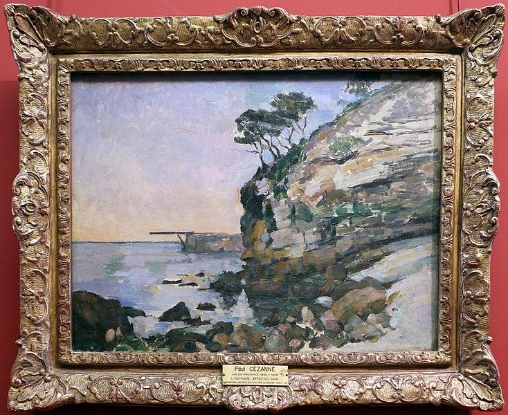 File:Paul cézanne, l'estaque, effetto di sera.jpg
