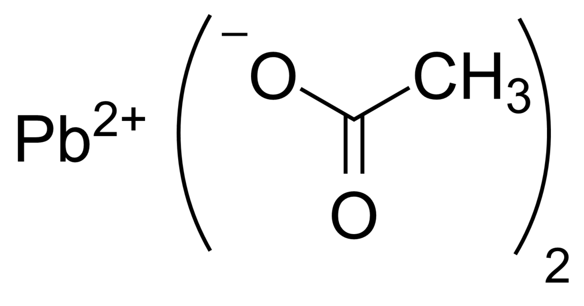 Lead(II) acetate