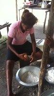 File:Peace Corps Vanuatu- Scratching coconuts.webm