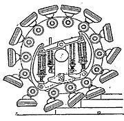 Pedrail wheel